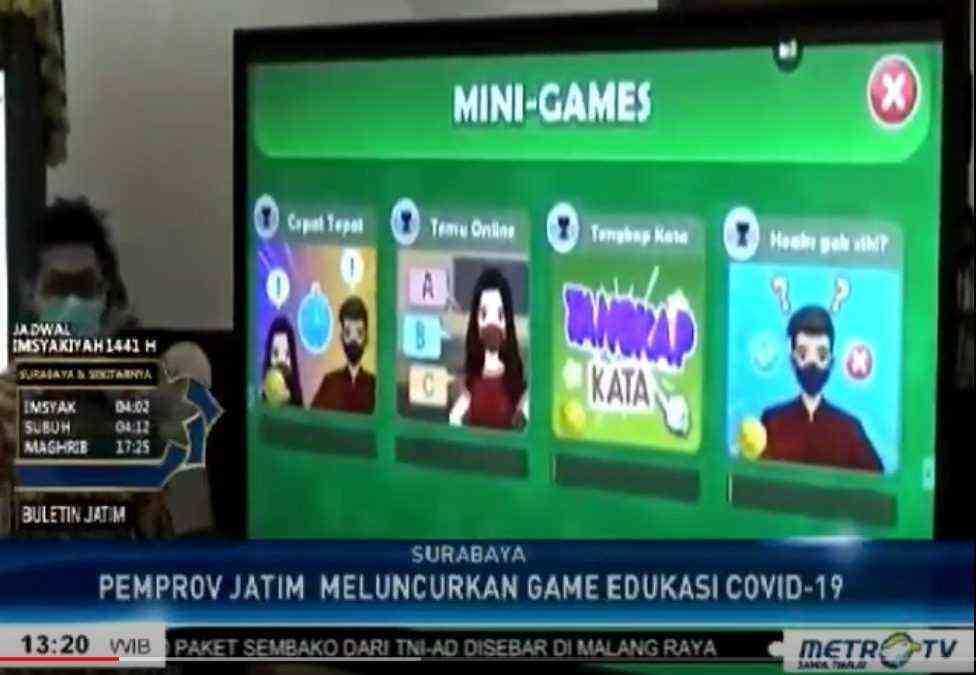 Game for Charity is featured on Metro TV