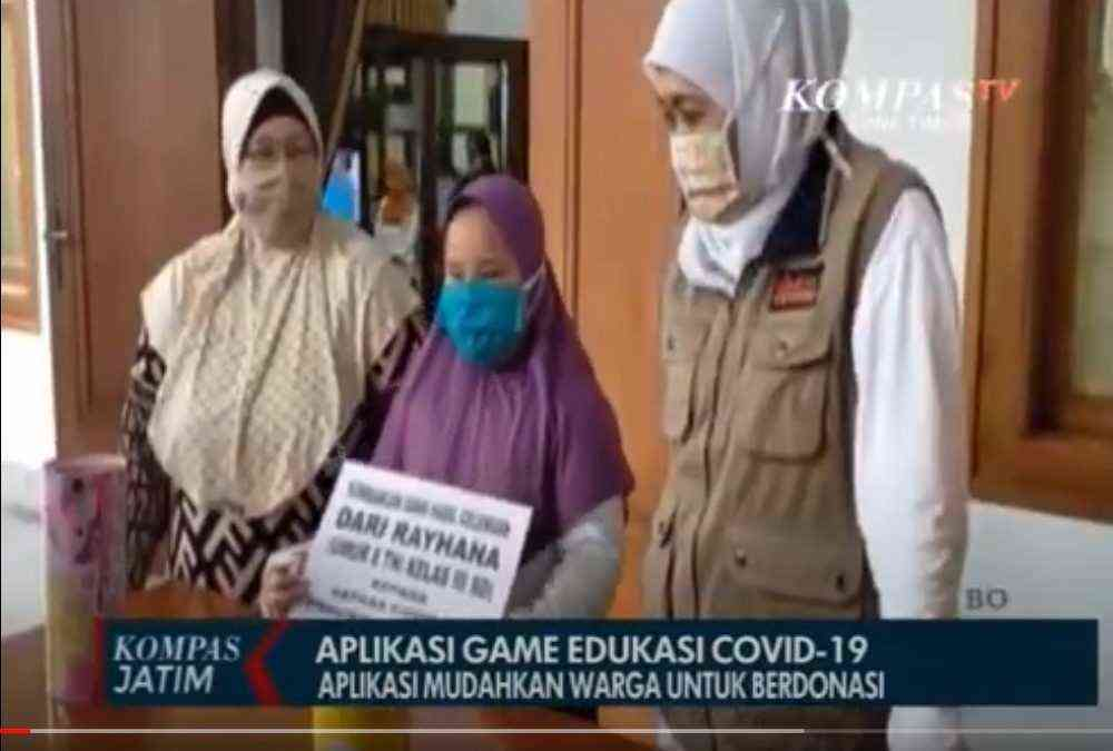 Game for Charity is featured on Kompas TV