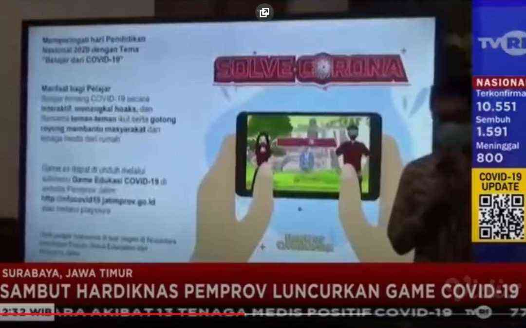 Game for Charity is featured on TVRI