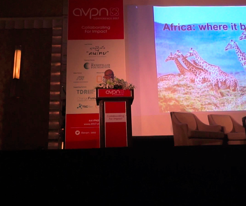 AVPN Conference's Members Day Keynote by Peng T. Ong